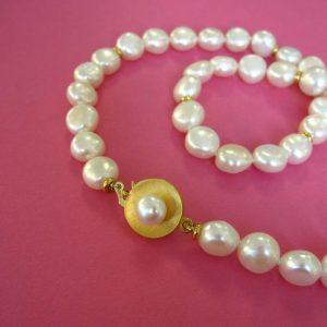Perlencollier klassisch
