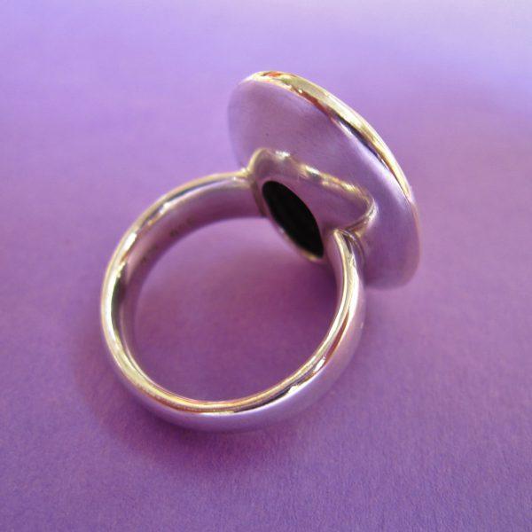 Silber Ring Rückseite